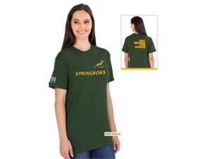 Unisex Springbok Tshirt @ R100.00