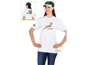 Unisex Premium Springbok T shirt @ R120.00