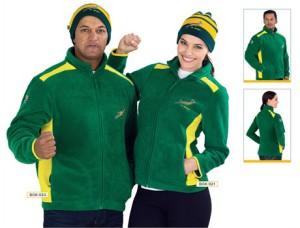 Mens and Ladies Springbok Fleece jacket @ R420.00