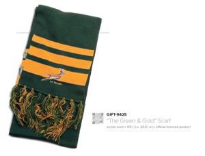 SA Rugby scarf @ R105.00